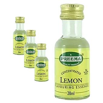 4 x 28ml citron essens bakning arom smak koncentrerade kakor Cookies