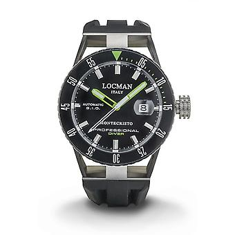 Locman - Wristwatch - Men - MONTE CHRISTO - 0513KNKGBKNKSIK