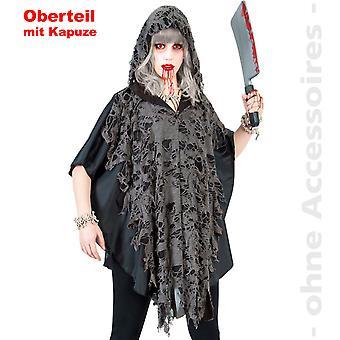 Zombie Cape costume ladies undead Halloween damer kostume