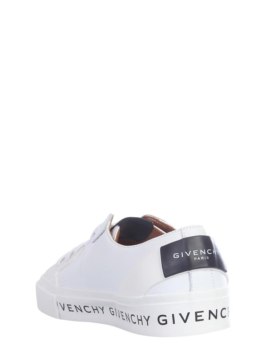 Givenchy Be000te0ga100 Women's White Leather Sneakers
