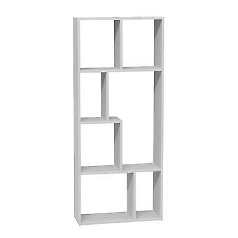White Color Ingressini Library in MDF 63x24x150 cm