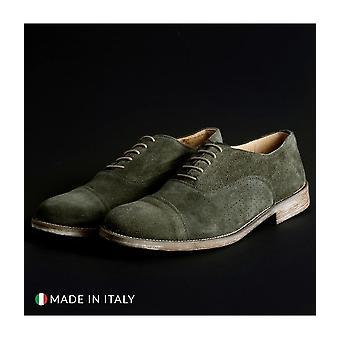 SB 3012 - Shoes - Lace-up shoes - 1003-CAMOSCIO-B-VERDE - Men - darkolivegreen - EU 41