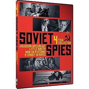 Soviet Spies: 4 Film Collection [DVD] USA import