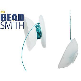 Beadsmith Bob-eez No Tangle Thread Bobbins For Kumihimo Pack of 8,
