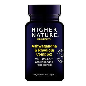 Higher Nature Ashwagandha & Rhodiola Complex Caps 30