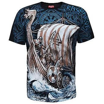 Aquila - bateau long viking - t-shirt