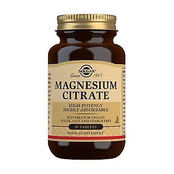 Magnesiumcitrat 60 tabletter