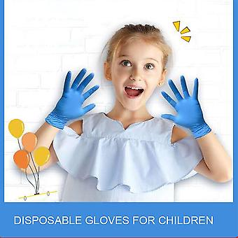 Kids Nitrile Food Grade Powder Free Disposable Gloves