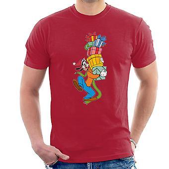 Disney Christmas goofy gave stabel menn ' s T-skjorte
