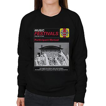 Haynes Music Festivals Deelnemer Manual Women's Sweatshirt