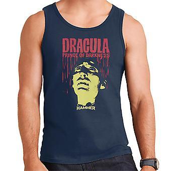 Hammer Dracula Prince Of Darkness Poster Men's Vest