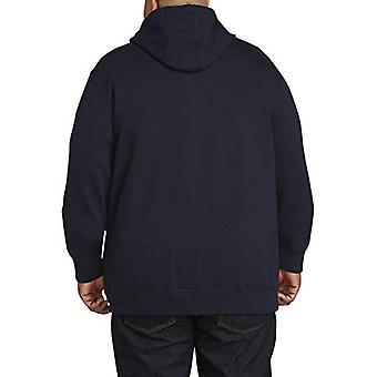 エッセンシャルメン&アポス;sビッグとトールフルジップフードフリーススウェットシャツがフィット.