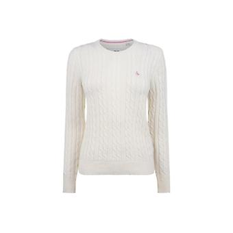 Jack Wills Tinsbury Classic Cable Crew Jumper