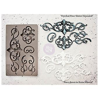 Re-Design com moldes Prima Tilden Flourish 5x8 Polegadas