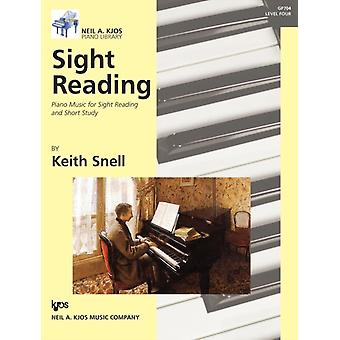 Sight Reading Piano Music for Sight Reading and Short Study Level 4 by Keith Snell