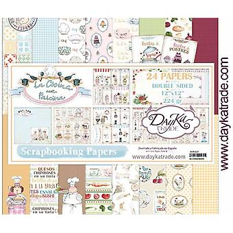 DayKa Trade Cocina 12x12 Inch Paper Pack