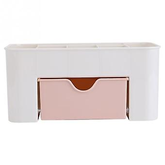 Plastic Makeup Organizers Storage Box - Desktop Drawers For Cosmetic, Jewelry