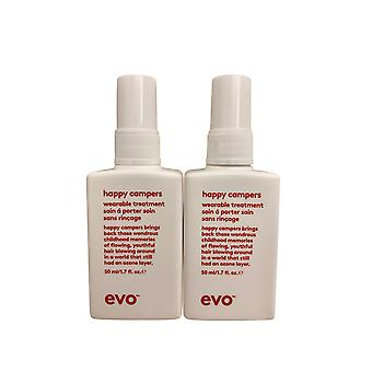 evo Happy Campers Wearable Treatment DUO Each 1.7 OZ