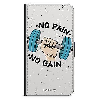 Bjornberry Wallet Case LG G5 - No Pain No Gain