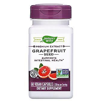 Nature-apos;s Way, Graines de pamplemousse, 250 mg, 60 Capsules végétaliennes
