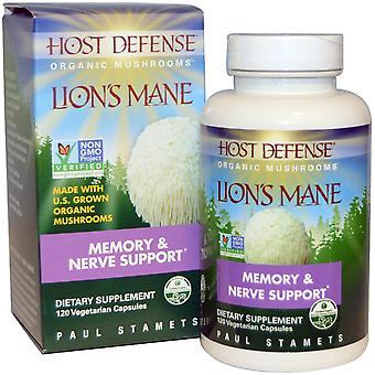 Fungi Perfecti, Lion's Mane, Memory & Nerve Support, 120 Vegetarian Capsules
