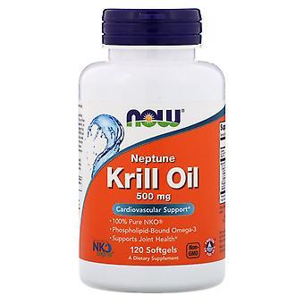 Ora Alimenti, Olio di Krill Di Nettuno, 500 mg, 120 Softgels