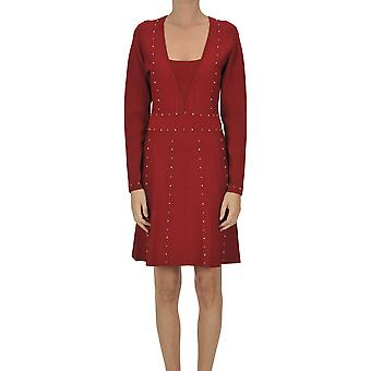 Nenette Ezgl266155 Femmes'robe viscose rouge