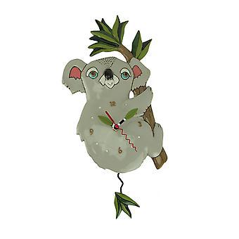 Allen entwirft Koolah Koala-Pendel-Wanduhr