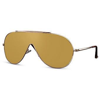 النظارات الشمسية الرجال الطيار الرجال كات. 3 الذهب / الأصفر