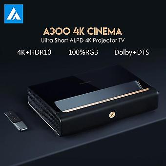 4k Projector Ultra Short Throw Laser Projector 9000 Ansi Lumen Alpd Tv With