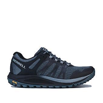 Men's Merrell Nova Trail Running Shoes in Black