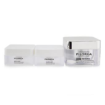 Perfect skin ritual set: ncef reverse cream + meso mask + sleep & lift night cream 252166 3pcs