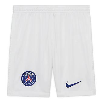 2020-2021 PSG Nike Away Shorts (أبيض)