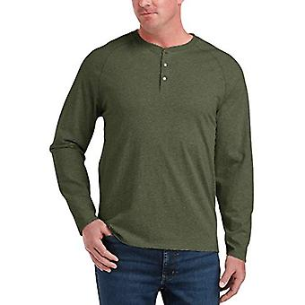Chemise Henley Essentials Men's Big & Tall, -Olive Hea...