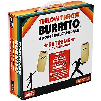 Throw Throw Burrito: Extreme Outdoor Edition Card Game