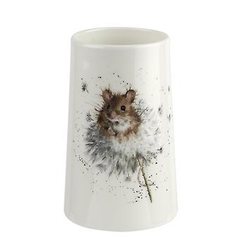 Wrendale تصاميم الفئران البلاد مزهرية صغيرة