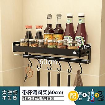 Ms Pot Rack Perforated Kitchen Fixture Board Cutting Storage Stainless Steel Knife Holder Chopstick Box  Shelf