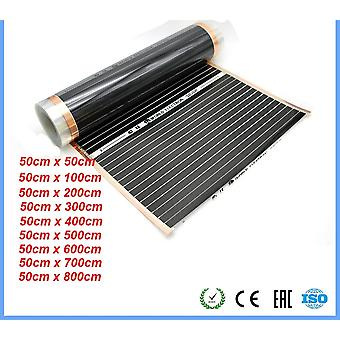 220v  Healthy Floor Heating Infrared Underfloor Carbon Film Heater