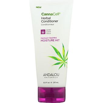 Andalou Naturals CannaCell Conditioner Moisture, 8.5 Oz
