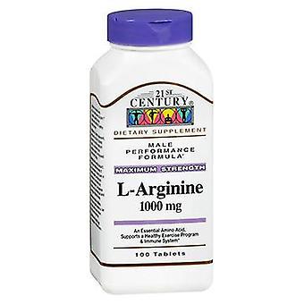 21st Century 21st Century L-Arginine, 100 Tabs