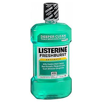 Listerine Antiseptic Mouthwash, Fresh Burst 33.8 oz
