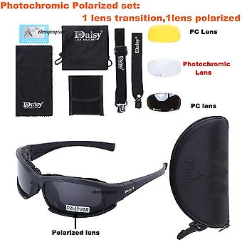 Photochromic Polarized Glasses, Army Transition Sunglasses Military Goggles 4