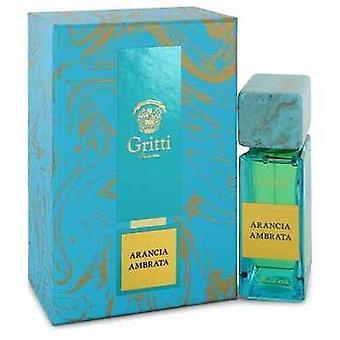 Arancia Ambrata By Gritti Eau De Parfum Spray (unisex) 3.4 Oz (women) V728-543712
