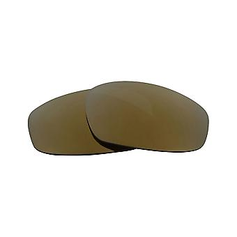 Polarized Replacement Lenses for Oakley Split Jacket Sunglass Anti-Scratch Gold
