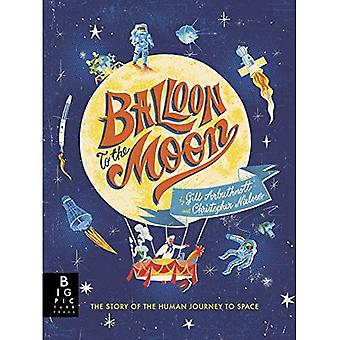 Ballon naar de maan