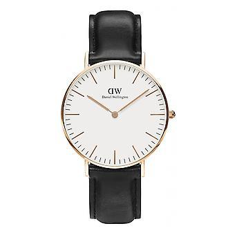 Daniel Wellington DW00100036 Sheffield Black Strap Wristwatch