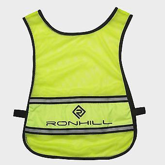 Új Ronhill Unisex Vizion Hi-Vis Futás Bib Fluo Sárga