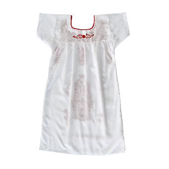Southwestern Dress With Red Flowers