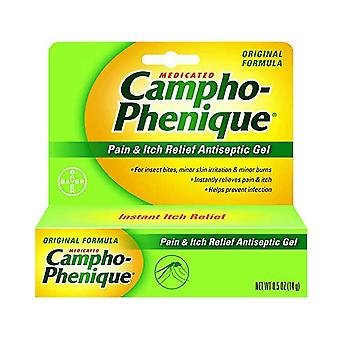 Campho-phenique pain & itch relief antiseptic gel, 0.5 oz