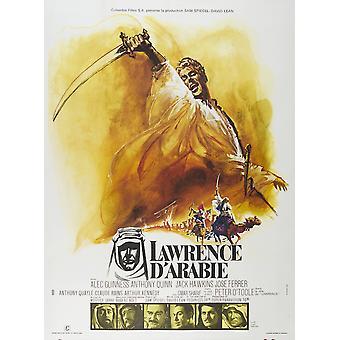 Lawrence af Arabien film plakat Masterprint